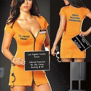 LA County Prisoner Costume Dress